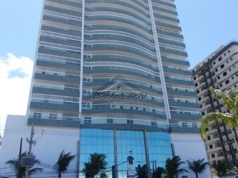 Apartamento 2 Dormitórios 1 Suite de frente ao mar Vila Caiçara em Praia Grande - SP