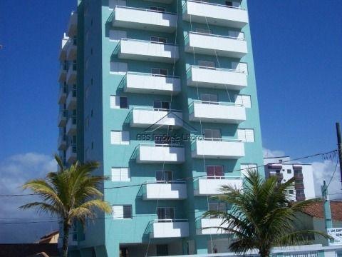 Apartamento de 2 dormitório Pé na areia na Vila Caiçaça em Praia Grande