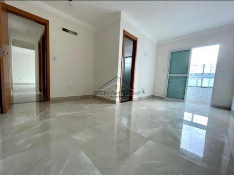 Lindo Apartamento 2 dormitórios 2 suítes no Canto do Forte em Praia Grande