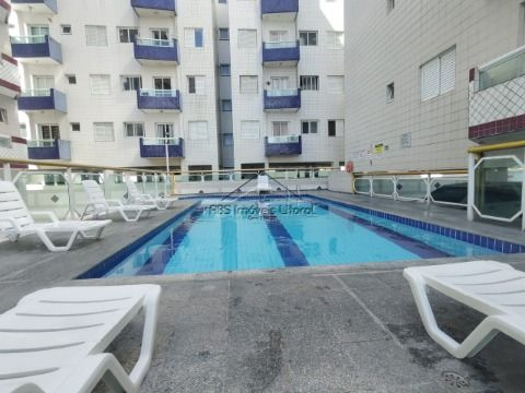 Apartamento 2 Dormitórios 1 Suite Cidade Ocian em Praia Grande