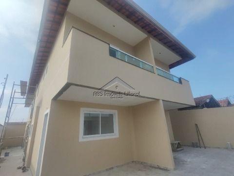 Casa nova no Balneário Maracanã em Praia Grande - SP