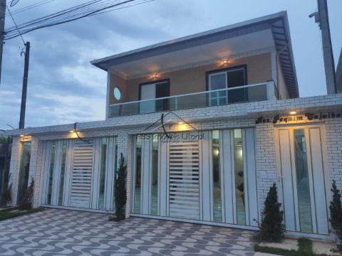 Casa nova no bairro da Vila Mirim em Praia Grande - SP