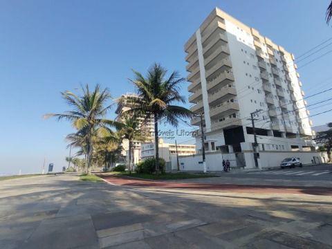 Apartamento de 1 dormitórios pé na areia no Balneário Florida em Praia Grande