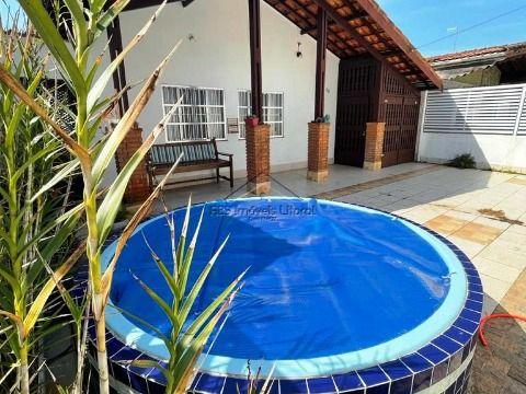Casa 3 dormitórios alto padrão no jardim Imperador na Praia Grande - SP