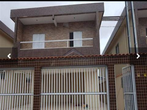 Casa 2 Dormitórios  no Balneário Esmeralda em Praia Grande SP