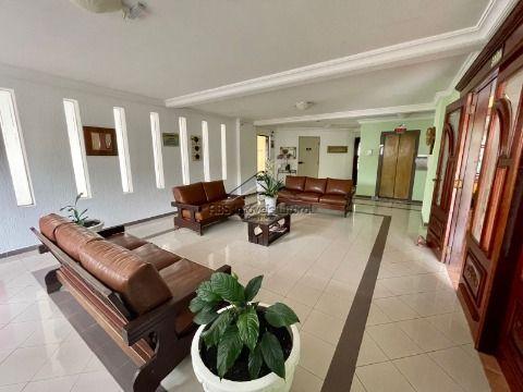 Apartamento de 2 dormitórios frente mar no Caiçara em Praia Grande ( entrada 140 mil )