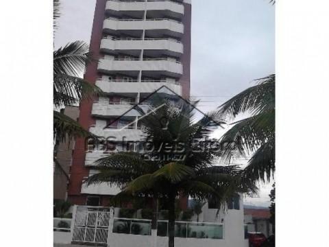 Apartamento de 1 dormitório de frente para o mar no Balneário Maracanã em Praia Grande-SP