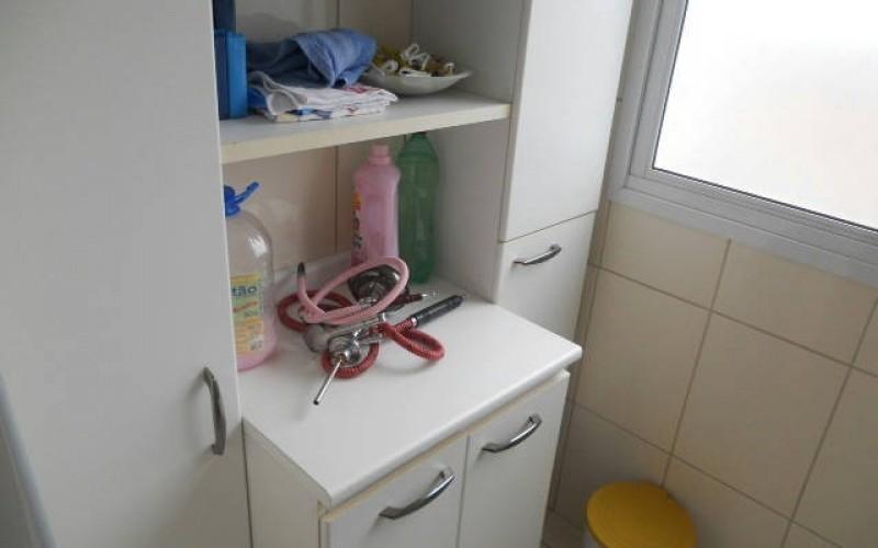 armários da lavanderia