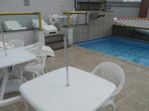 Apartamento em Vila Caiçara - Praia Grande -SP