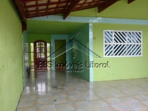 Casa 2 dormitórios no Jardim Imperador Praia Grande -  SP