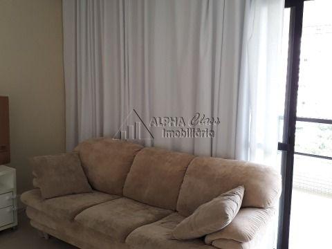 Aluga apartamento 4/4 mobiliado em Alphaville I