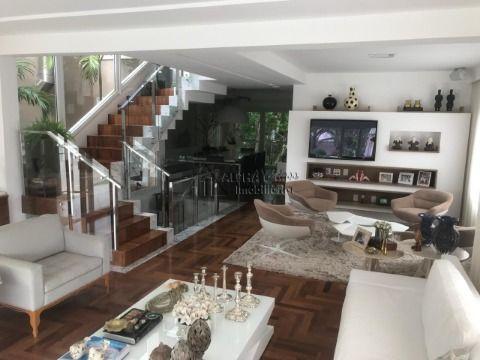 Casa alphaville 1 mobiliada
