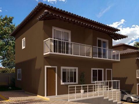 Casa duplex 2qtos em condomínio