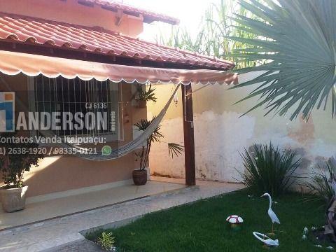 Casa em Itaipuaçu 3qtos (1 suíte c/ closet)