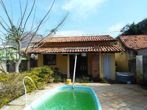 Casa no Recanto 2 Qtos terreno 450m² c/piscina e churrasqueira