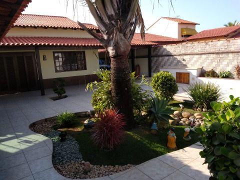 Magnifica residência Itaipuaçu, 3qtos(1 suite) + 2 suítes anexa, com piscina, espaço gourmet