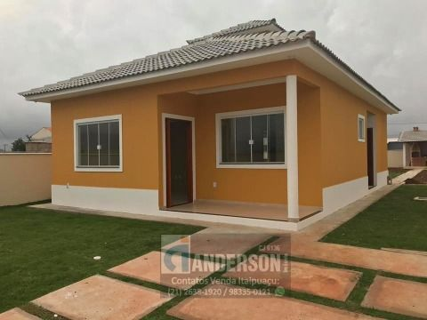 Excelente casa c/ 3Qtos 1suíte terreno 480m² churrasqueira e chuveirão Itaipuaçu
