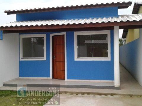 Casa 3Qtos sendo 1suíte próximo praia e asfalto Itaipuaçu