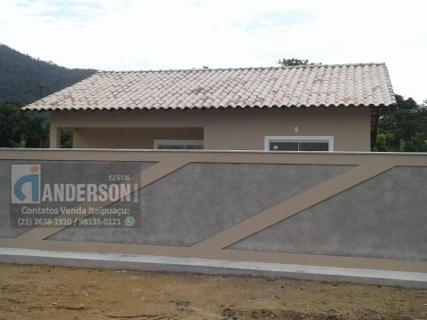 Casa 1ª locação c/ 2 quartos no São Bento da Lagoa Itaipuaçu