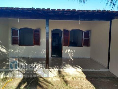 Casa em Itaipuaçu c/ quintal próximo ao asfalto e praia.