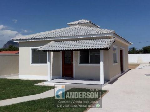 Casa 3Qtos (sendo 1 suíte) terreno 480m² c/churrasqueira em Itaipuaçu