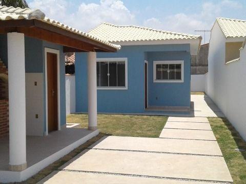 Casa 2Qtos(1suíte) c/ churrasqueira próximo a praia em Itaipuaçu