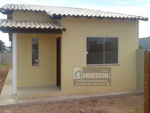 Casa 2Qtos (sendo 1suíte) c/terreno 316m² no Jd. Atlântico Itaipuaçu
