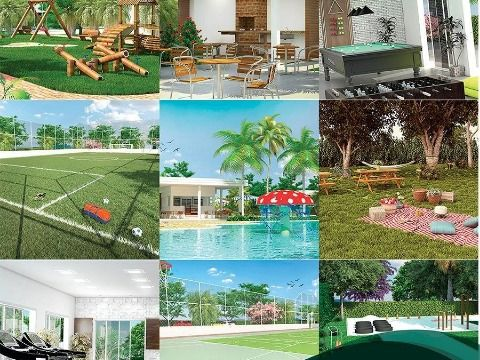 Terreno Condomínio Clube Royal Garden - Repasse financiamento