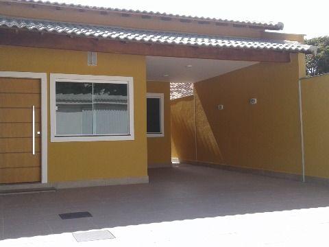 Casa 3Qtos em porcelanato c/espaço gourmet rua asfaltada em Itaipuaçu