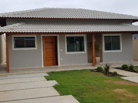 Excelente casa 3Qtos c/churrasqueira e paisagismo em Itaipuaçu
