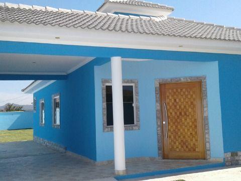 Maravilhosa Casa 3Qtos  porcelanato c/churrasqueira completa em Itaipuaçu