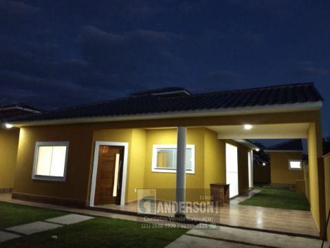Maravilhosa casa 3 Qts, suíte, Churrasq, Terreno 440 m², fino acabamento.
