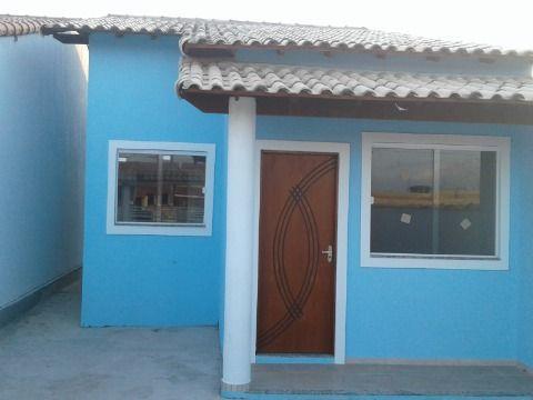 Casa 2Qtos( 1 suíte) no Jd. Atlântico próx. praia e condução em Itaipuaçu