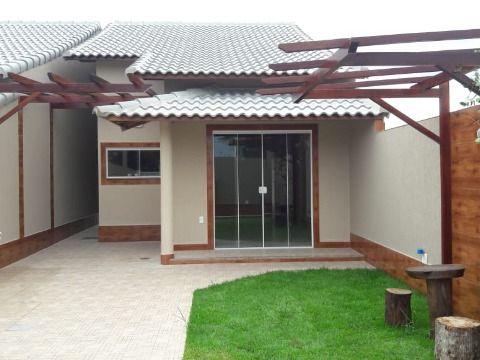 Excelente casa 2Qtos c/porcelanato, churrasqueira e chuveirão em Itaipuaçu