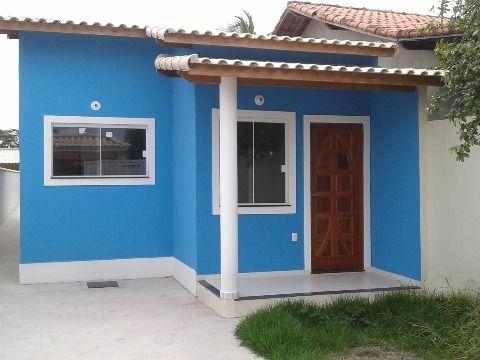 Casa 2Qtos(1suíte) c/ churrasqueira no Jd. Atlântico próx. praia em Itaipuaçu