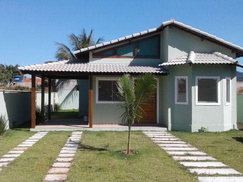 Casa 3Qtos 1 suíte terreno 480m² gramado no Jd. Atlântico Itaipuaçu