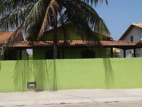 Casa 3Qtos terreno 480m²  c/ piscina e churrasqueira no Jd. Atlântico em Itaipuaçu.