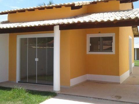 Casa 2 Qtos c/ fino acabamento porcelanato, churrasqueira, próx. rodoviária e praia em Itaipuaçu