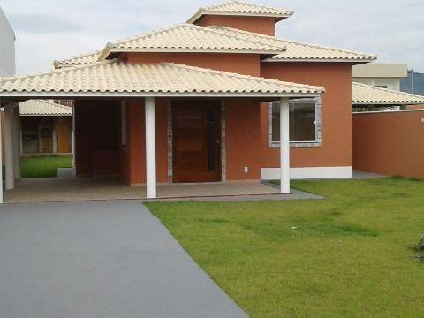 Bela casa 3Qtos (sendo 1 suíte) c/churrasqueira terreno 480m² Jd. Atlântico