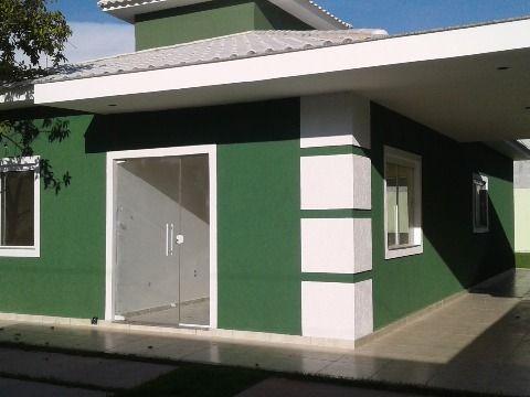 Casa 3 Qtos ( 1suíte) em terreno 360m² a poucos metros rua 1 do Jd. Atlântico Itaipuaçu
