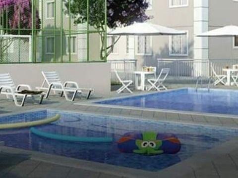 Excelente Apartamento c/ 2Qtos em Cond. Fechado Segurança 24H c/ Ampla Área de Lazer.