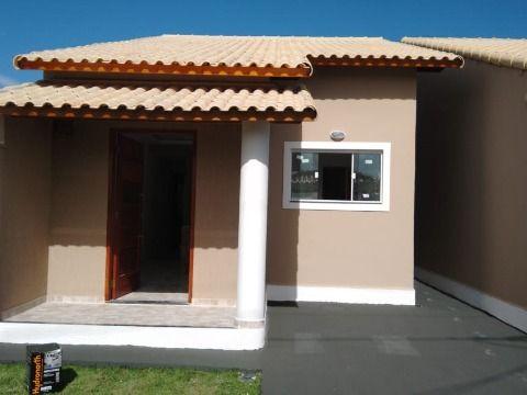 Casa 1ª locação c/2Qtos rua asfaltada no Jd. Atlântico Itaipuaçu