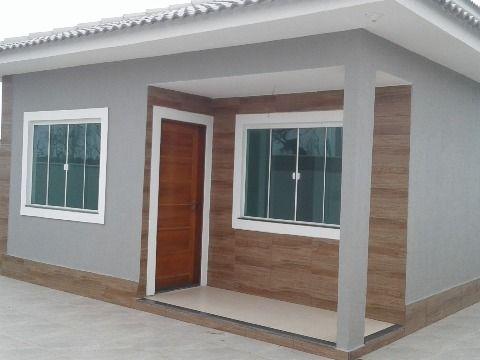 Casa nova 3Qtos (1suíte) c/churrasqueira terreno 480m² no Jd. Atlântico Itaipuaçu