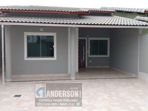 Excelente casa 3Qtos(1suíte) c/churraqueira + anexo c/quarto e banheiro em Itaipuaçu