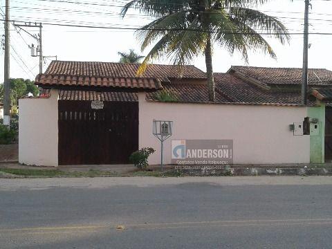 Casa 2 Qtos (1 suíte) terreno 400m² de esquina, no Barroco em Itaipuaçu