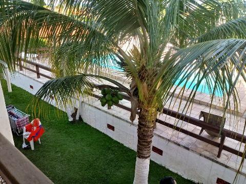 Ótimo Apartamento em Itaipuaçu c/ 2Qtos em Cond. Fechado c/ 2 Piscinas, Campo de Futebol e Salão de Festas.