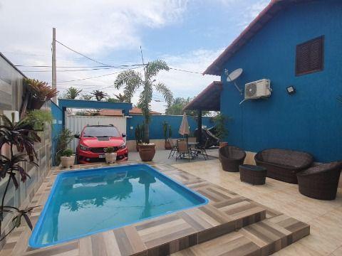 Bela casa 2Qtos (1 suíte) c/piscina e churrasqueira próx. rodoviária Itaipuaçu