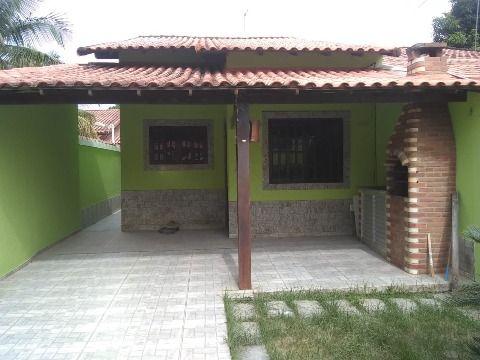 Ótima Casa em Itaipuaçu c/ 2Qtos (1 suíte) c/ churrasqueira e pia.