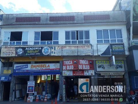 CE95902 -  Excelente sala comercial muito bem localizada no Centro de Maricá.