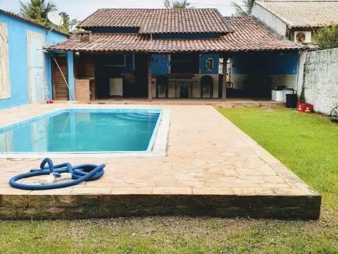 Excelente casa c/ 2Qtos (1 suíte) c/ piscina e churrasqueira.